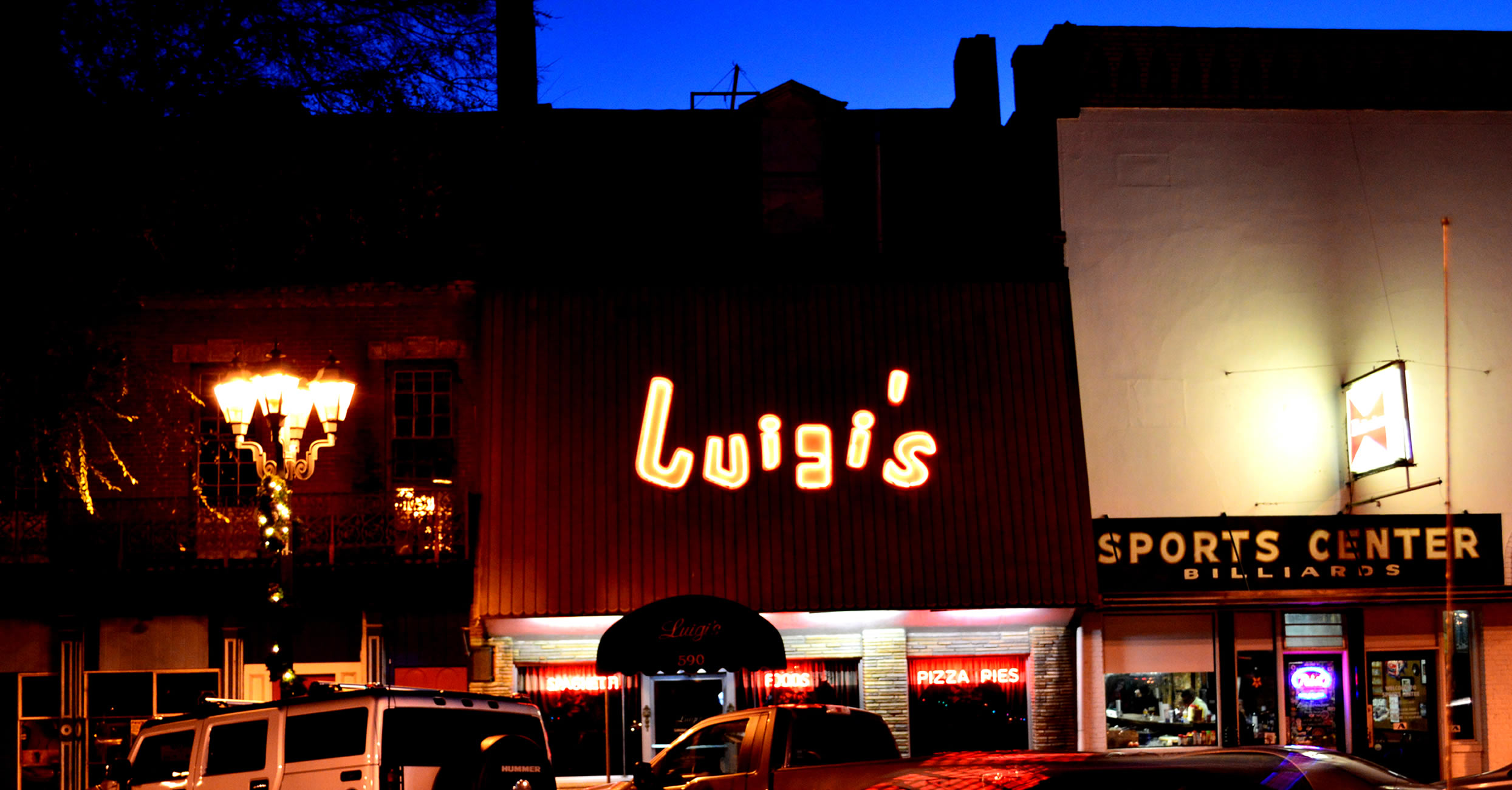 Luigis Restaurant Augusta Georiga's Oldest family owned restuarant